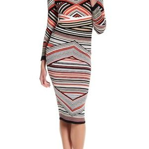 New! Romeo & Juliet Couture Stripe Mix Skirt